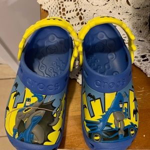Kids Batman crocs